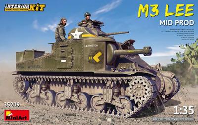 M3 LEE MID PROD. INTERIOR KIT - 1