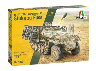 Sd.Kfz. 251/1 Wurfrahmen 40 Stuka zu Fuss - 1