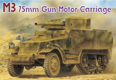 M3 75mm GUN MOTOR CARRIAGE (SMART KIT) (1:35)