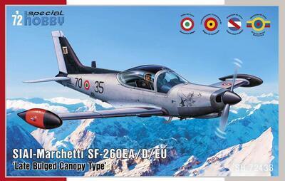 SIAI-Marchetti SF-260EA/D/EU ' Late Bulged Canopy Type'