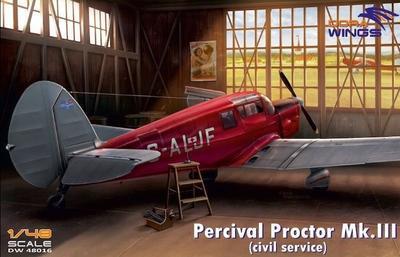 Percival Proctor MK.III (Civil Service)