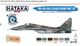 MiG-29A/UB 4-colour scheme paint set, set barev - 1/2