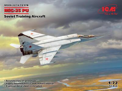 MiG-25PU Soviet Training Aircraft - 1