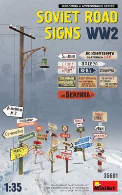 Sowiet Road Sings WW2 - 1