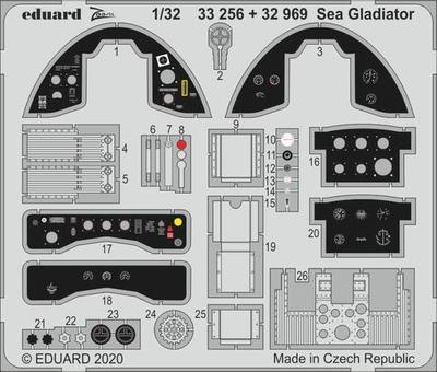 Sea Gladiator 1/32  lept