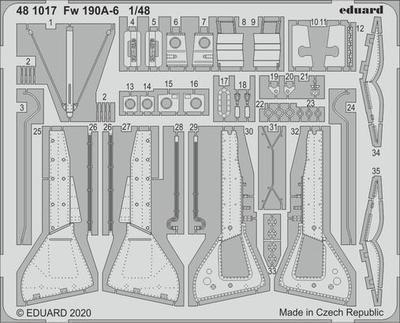 Fw 190A-6 1:48 lept