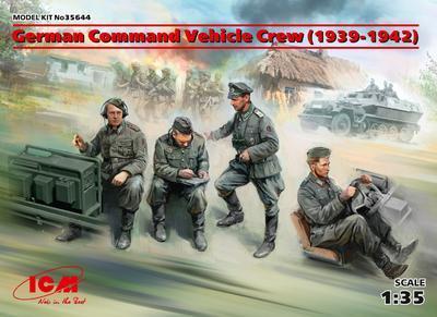 German Command Vehicle Crew (1939-1942) - 1