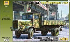 """German Heavy Truck """"Einheitsfahrerhaus"""" L-4500"""