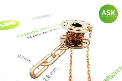 Chain: Medium - 50 cm long (brass)