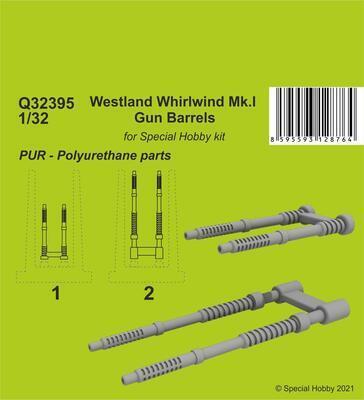 Westland Whirlwind Mk.I Gun Barrels , resin