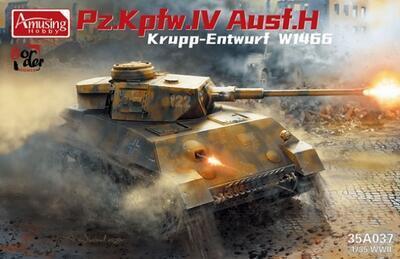 Panzer IV Ausf.H, Krupp - Entwurtf W1466