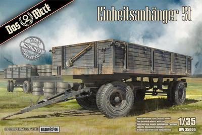 Einheitsanhänger 5t German Uniform 5t Trailer WW2