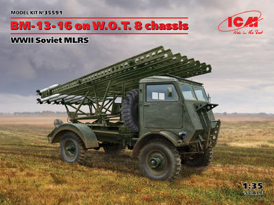 BM-13-16 on W.O.T. 8 chassis, WWII Soviet MLRS - 1