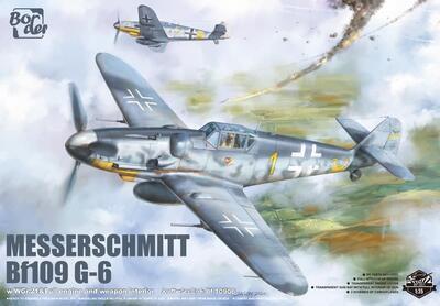 Messerschmitt Bf109 G-6 + fig. Hartmann