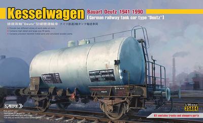 KesselwagenBauart Deutz 1941-1990, metal wheel edition