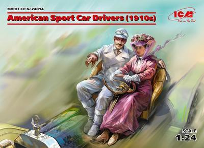 American Sport Car Drives (1910s) 2 fig.  - 1
