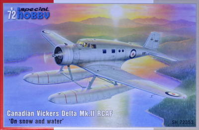 "Canadian Vickers Delta Mk.II RCAF ""On snow and water"""