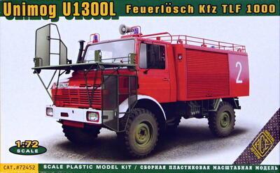 1/72 Unimog U1300L Feuerlösch Kfz TLF 1000