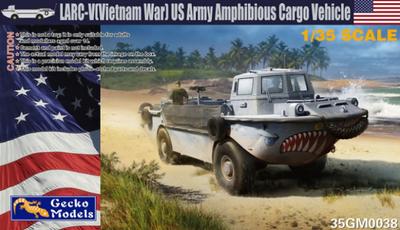 LARC-V (Vietnam War) US Army Amphibious Cargo Vehicle