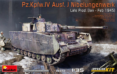 Pz.Kpfw.IV Ausf. J Nibelungenwerk Late Prod. (Jan – Feb 1945) INTERIOR KIT - 1