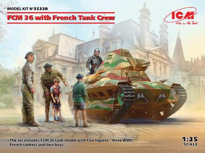FCM 36 tank with frech Tank Crew