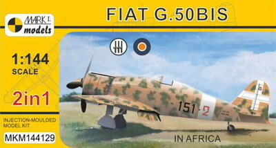 Fiat G.50 'In Africa' (2in1)