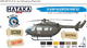 US Army Helicopters Paint Set, sada barev - 1/2