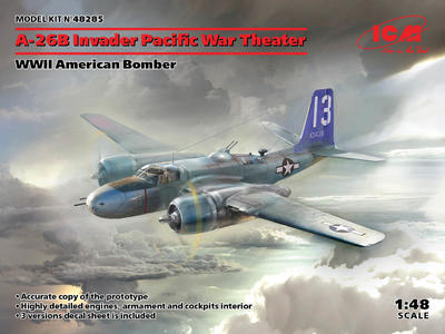A-26? Invader Pacific War Theater, WWII American Bomber - 1