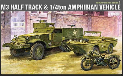 Ground Vehicle Series 6, M3 Half Track & 1/4 Ton Aphibian Vehicle