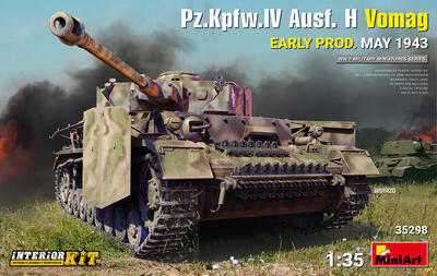 Pz.Kpfw.IV Ausf. H Vomag. EARLY PROD. MAY 1943. INTERIOR KIT - 1