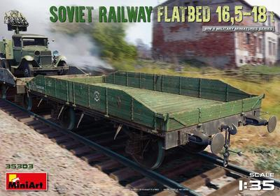Soviet Railway Flatbed 16,5-18 t - 1