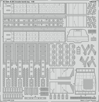 B-26C Invader pumovnice 1/48