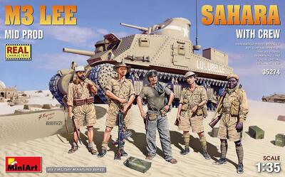M3 LEE MID PROD. SAHARA w/CREW - 1