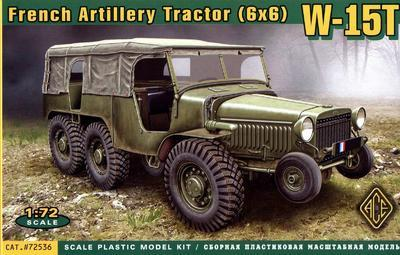 French Artillery Tractor (6x6) W-15T