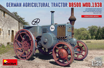 GERMAN AGRICULTURAL TRACTOR D8500 MOD. 1938 - 1