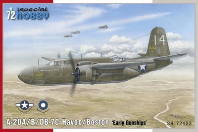 A-20A/B/DB-7C Havoc/Boston 'Early Gunships'