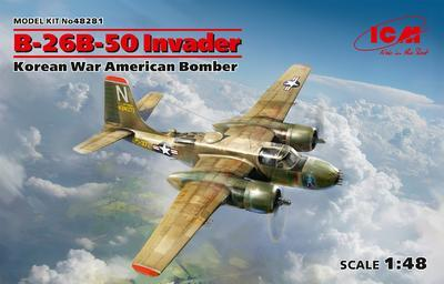 B-26B-50 Invader Korean War American Bomber - 1