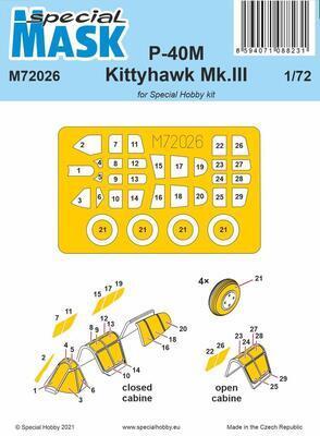 P-40M Warhawk/Kittyhawk Mk.III MASK