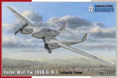 Focke Wulf Fw 189B-0/B-1 'Luftwaffe Trainer'  - 1