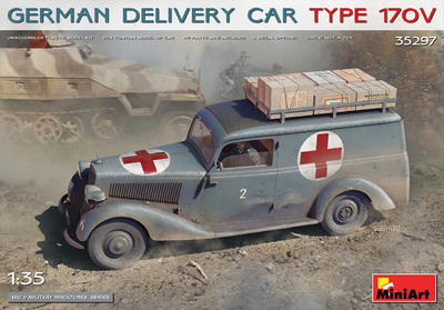 GERMAN DELIVERY CAR TYPE 170V - 1