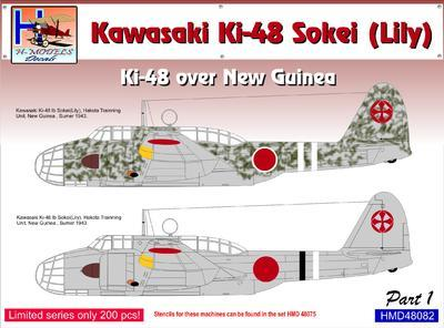Kawasaki Ki-48 over New Guinea part 1 - 1