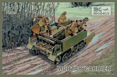 Universal Carrier I Mk.II Mortar Carrier
