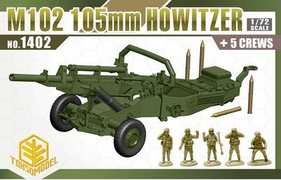 M102 105 mm Hotwizer with 5 crew - 1