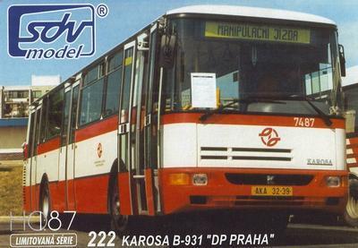 """Karosa B-931 """"DP Praha"""""""