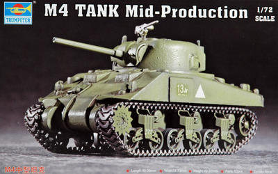 M4 Tank mid-Production