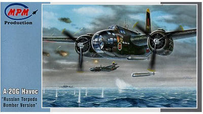 "A-20G Havoc ""Russian Torpedo Bomber Version"""
