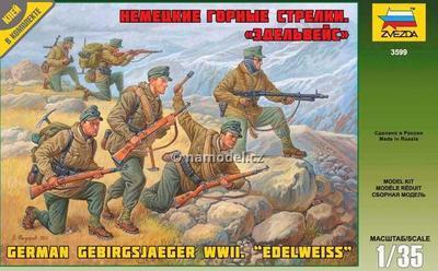 """German Gebirgsjaeger WWII.  """"Edelweiss"""""""