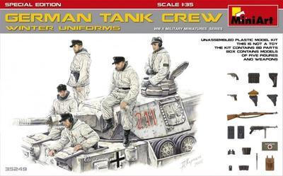 German Tank Crew - Winter Uniforms
