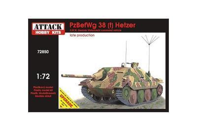 PzBefWg 38 (t) Hetzer commandvehicle late production