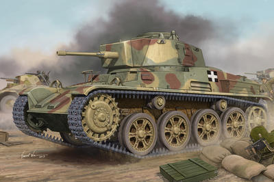 Hungaria Light Tank 43M Toldi III (C40)